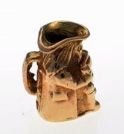 9ct Gold Toby Jug Charm