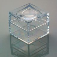 Magni-Box Acrylic Magnifying boxes. 9 x 25 mm