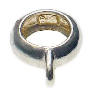 Mk1 Standard Bead Charm Carrier. Sterling 925 Silver