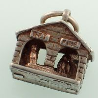 Nuvo Weather House Silver Charm