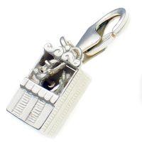 Punch & Judy Kiosk Silver Charm