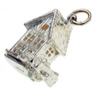Old Water Mill Sterling Silver Charm